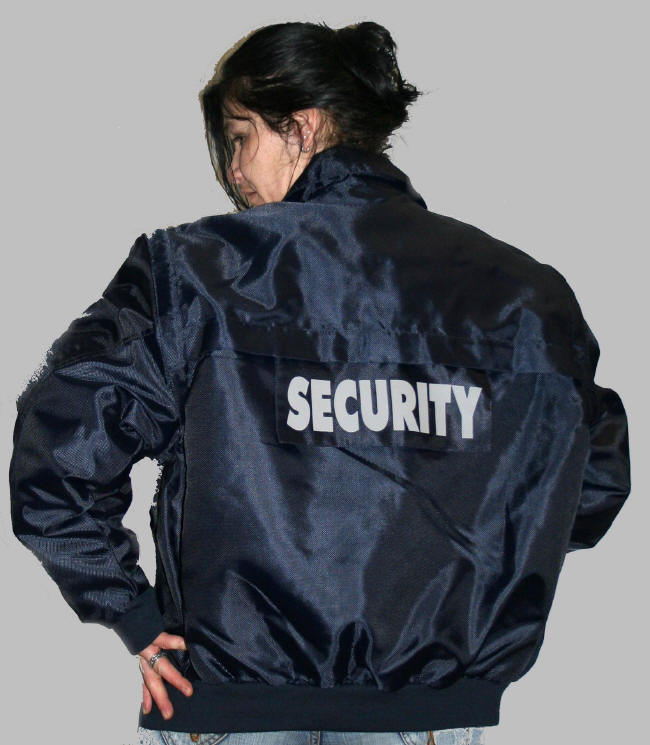 Security jacke damen